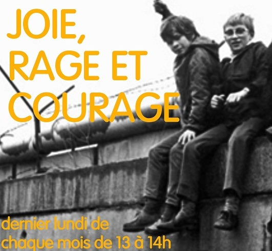 JOIE RAGE ET COURAGE